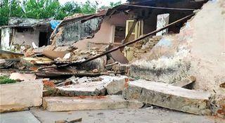 પાલનપુરમાં બિહારવાળી : વિવાદાસ્પદ કલબની જમીન ઉપરનાં મકાનો તોડી પડાયાં