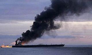 કુવૈતથી ભારત આવી રહેલા ઓઇલ ટેન્કરમાં ભીષણ આગ, હિંદ મહાસાગરમાં ઓઇલ પ્રસરવાનો ખતરો વધ્યો