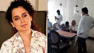 મુંબઇમાં સ્થિત કંગનાની ઓફિસ પર નોટિસ વગર બીએમસીની રેડ