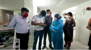 વડોદરાની સયાજી હોસ્પિટલની આગની ઘટનામાં તપાસ કમિટીની રચના : તપાસનો આરંભ
