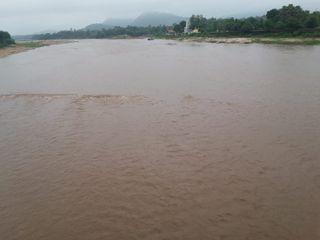 મધ્યપ્રદેશમાં વરસાદ થતાં છોટાઉદેપુર  ઓરસંગ નદીમાં ફરી પાણી આવ્યું
