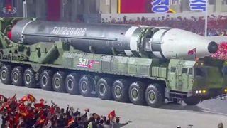 ઉત્તર કોરિયાના શક્તિ પ્રદર્શનથી દુનિયા ચકિત, સૌથી મોટી બેલેસ્ટિક મિસાઇલ ચર્ચાનું કેન્દ્ર