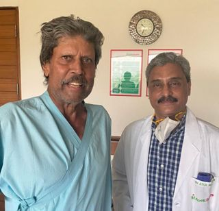 પૂર્વ ભારતીય ક્રિકેટર કપિલ દેવ સ્વસ્થ, હોસ્પિટલમાંથી ડિસ્ચાર્જ