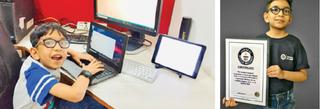 ગિનિઝ બુક દ્વારા અર્હમને યંગેસ્ટ કમ્પ્યૂટર પ્રોગ્રામર જાહેર કરાયો