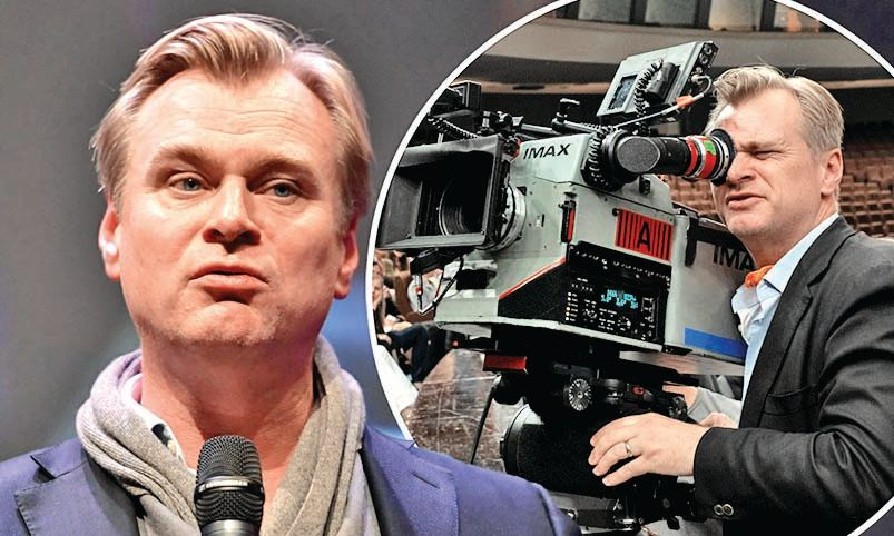 Christopher Nolan doesn't have a smartphone yet!