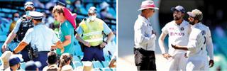 સિડનીમાં ભારતીય ક્રિકેટરો સામે વંશીય ટિપ્પણી થતાં વિવાદ