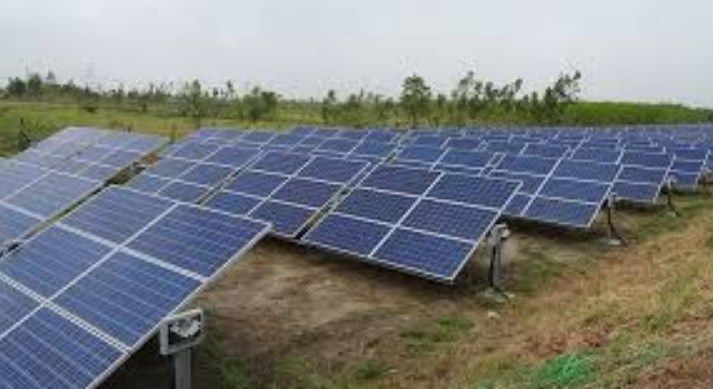 Adani Green's 25 MW solar power plant in operation at Chitrakoot