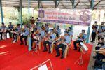 વડોદરામાં ગુજરાત પોલીસ દ્વારા પ્રજાસત્તાક દિવસની પૂર્વ ઉજવણીના ભાગરૂપે લાઈવ બેન્ડ કોર્ન્સટ યોજાયો