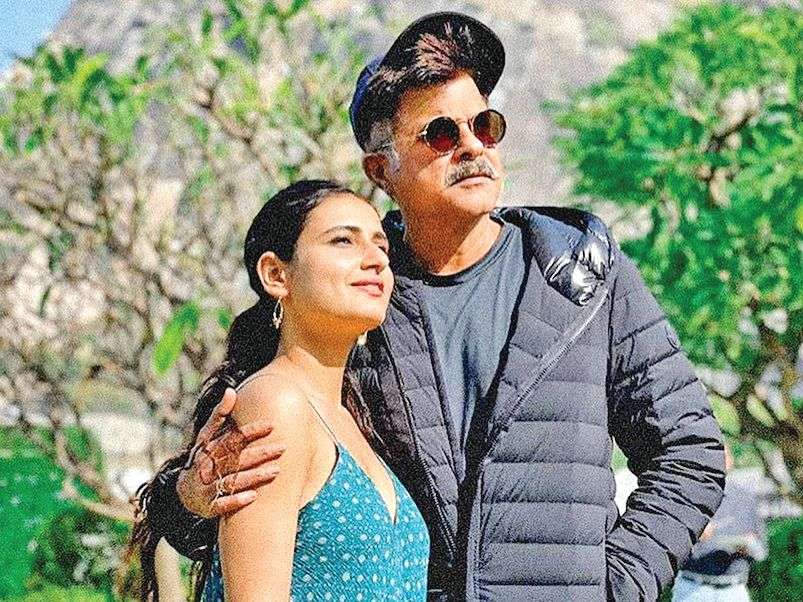 Fatima Sana Sheikh and Anil are busy shooting in Rajasthan