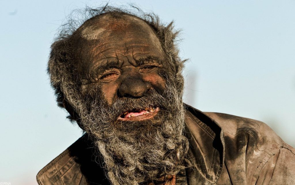 Unique estimate of the dirtiest man in the world