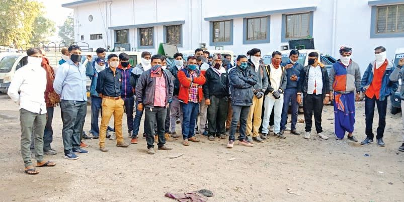 Strike of 62 employees of Patan Municipality's vehicle branch ended