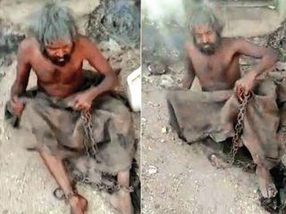 ભૂકંપ બાદ માનસિક સ્થિતિ ગુમાવનારને 9 વર્ષ સુધી અવાવરુ જગ્યાએ સાંકળથી બાંધી રાખ્યા