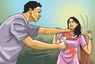 નિકોલમાં શંકાશીલ પતિએ પત્નીને રહેંસી નાખી