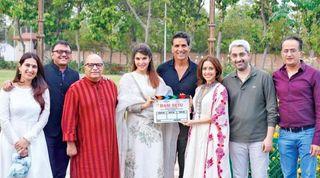 ફિલ્મ 'રામ સેતુ'ના 100માંથી  45 ક્રૂ મેમ્બર્સ પોઝિટિવ આવ્યા