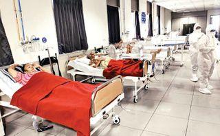 શહેરમાં કોરોનાનું સ્વરૂપ વિકરાળ બનતાં વધુ 15 હોસ્પિટલને કોવિડ હેલ્થ સેન્ટર તરીકે જાહેર કરાઇ