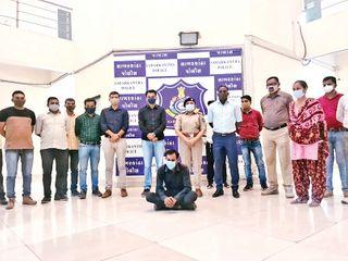 મહારાષ્ટ્ર અને ગાંધીનગર કોર્ટમાં પોલીસ જાપ્તામાંથી ફરાર ખુંખાર આરોપી ઝડપાયો