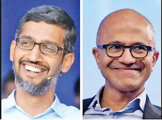 ગુગલ, માઈક્રોસોફ્ટના ભારતીય CEO માતૃભૂમિની મદદ માટે આગળ આવ્યાં