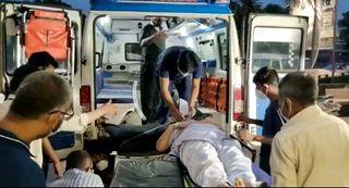 વડોદરાના માણેજા વિસ્તારમાં ઓક્સિજનનું સંકટ ઉભુ થતાં આઇસીયુના દર્દીઓને અન્ય હોસ્પિટલમાં કરાયા