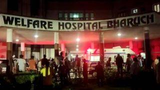 ભરૂચની પટેલ વેલ્ફેર કોવિડ હોસ્પિટલમાં મોડી રાત્રે ભીષણ આગ : 16 દર્દી સહિત 18 ભડથુ