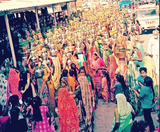 નવાપુરા, કોલટ, કુંવાર અને નિધરાડ ગામની મહિલાઓ બળિયાદેવ મંદિરે ઊમટતા FIR